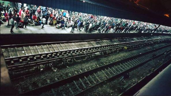 estacion tren Nueva Delhi